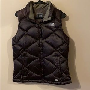North Face Puffer vest 550 down